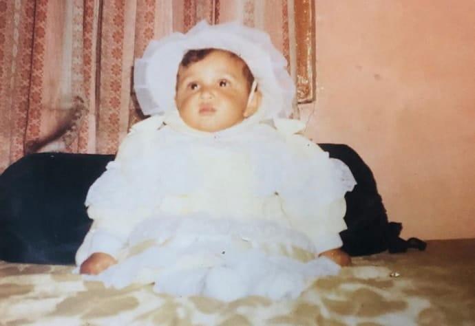 shefali bagga childhood photo