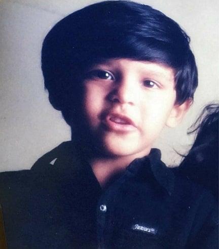 dhruv vikram childhood photo