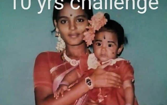 bharatha naidu childhood photo