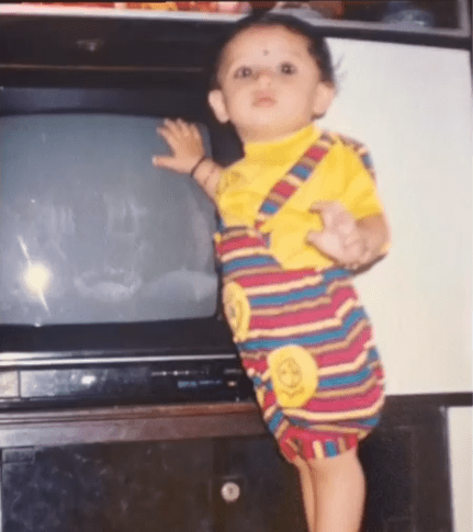 bhavin bhanushali childhood photo