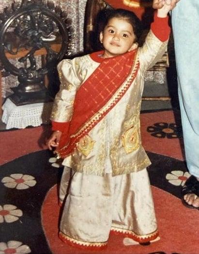 nimrit kaur ahluwalia childhood photo