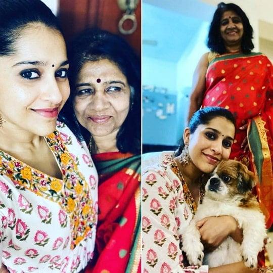 rashmi gautam mother