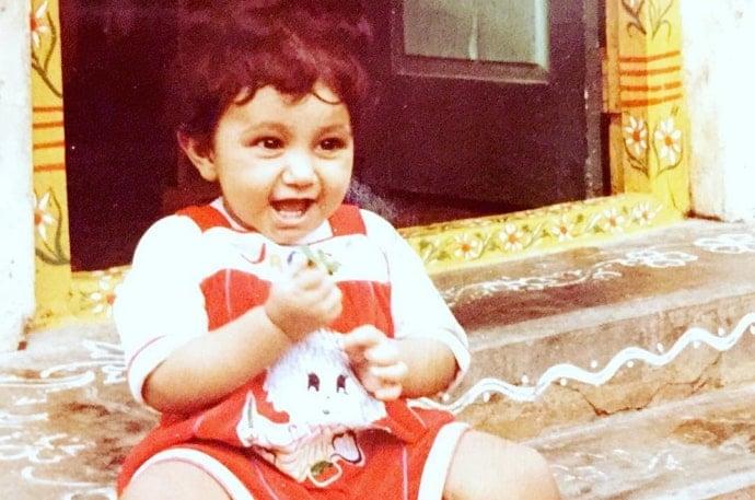 chaitanya jonnalagadda childhood photo
