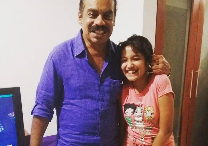 anikha surendran father