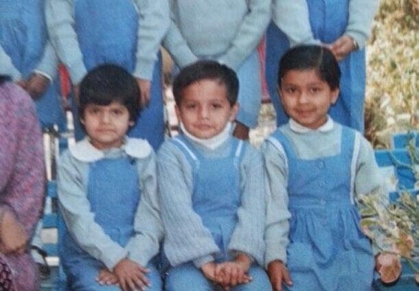 gaurav taneja childhood photo