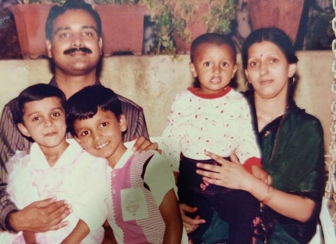 mayuri deshmukh family