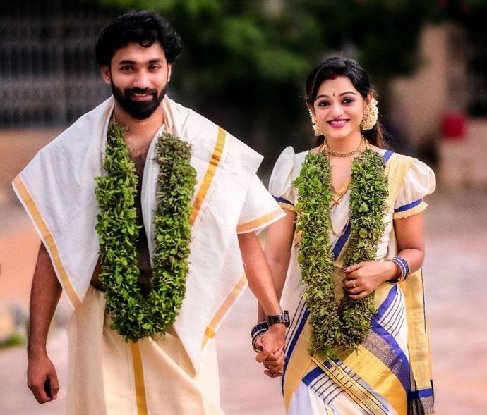 meera anil marriage photo