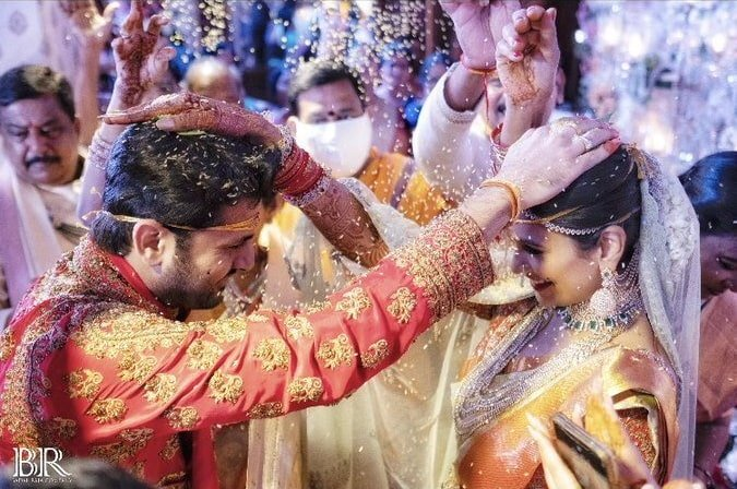 nithiin wedding photo