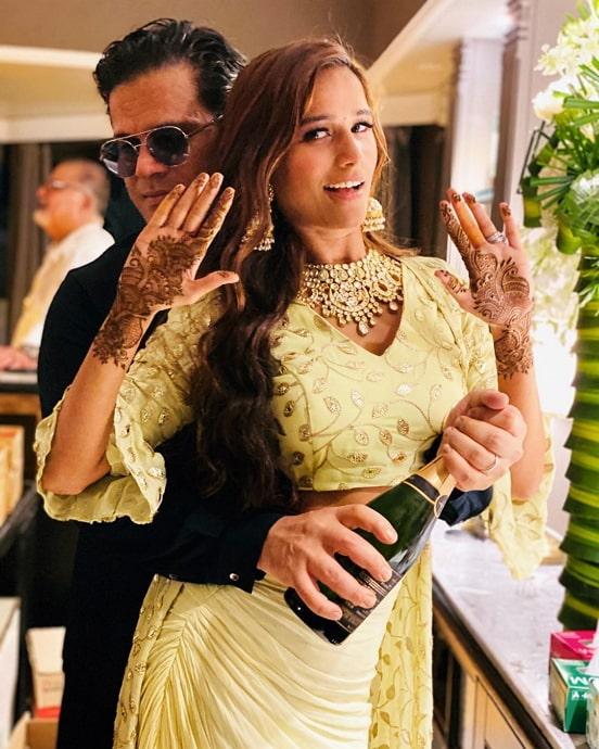 sam bombay wedding