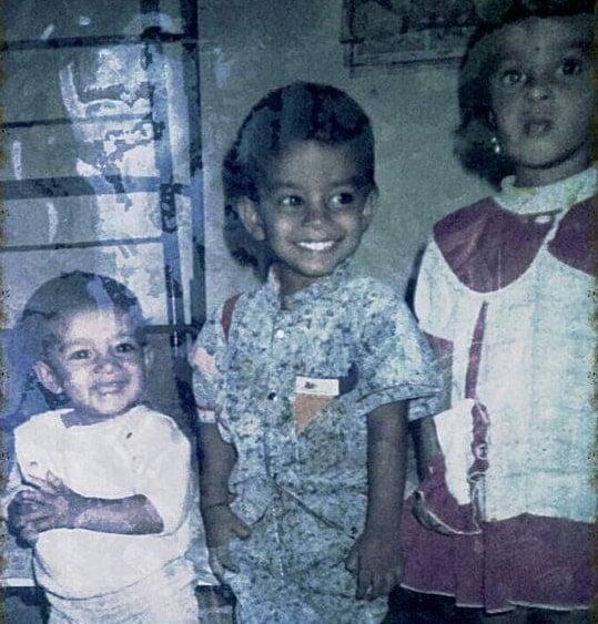 sudigali sudheer childhood photo