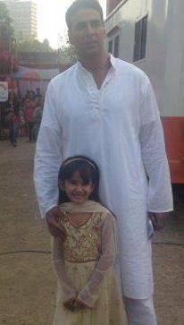 virti vaghani with akshay kumar