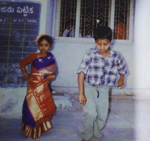 jabardasth avinash childhood photo