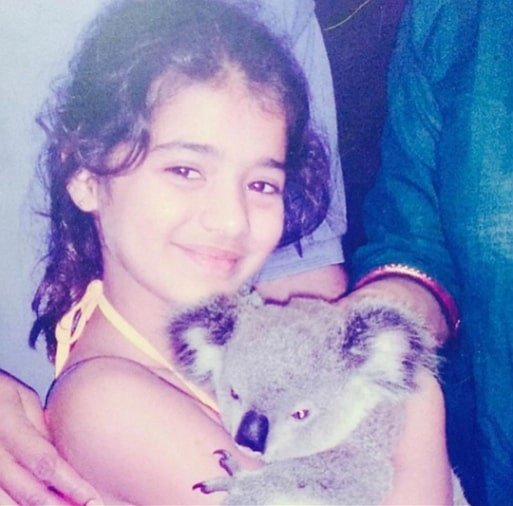 ketika sharma childhood photo