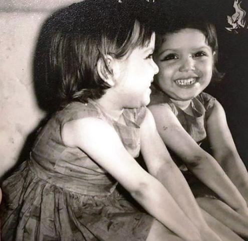 miheeka bajaj childhood photo