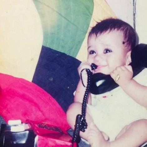 akhil sarthak childhood photo