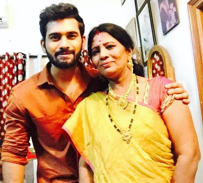 akhil sarthak mother