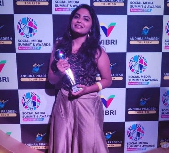 alekhya harika award