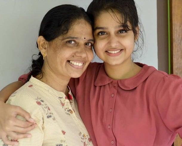 anaswara rajan mother