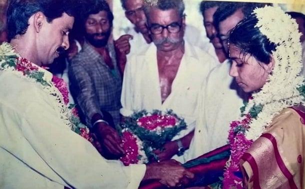 anaswara rajan father