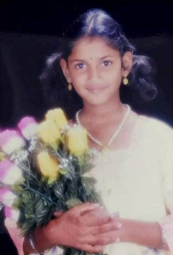ariyana glory childhood photo
