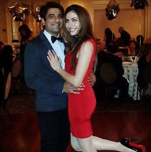 eijaz khan girlfriend