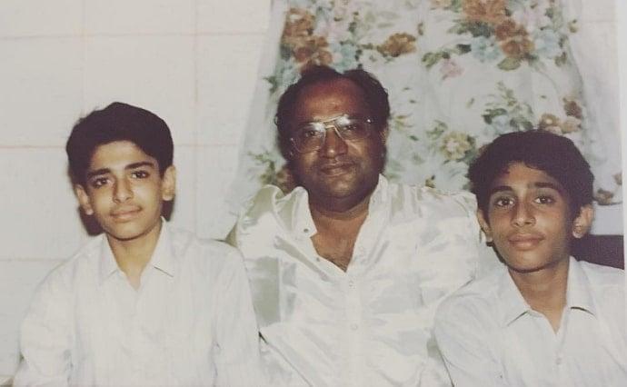 eijaz khan father