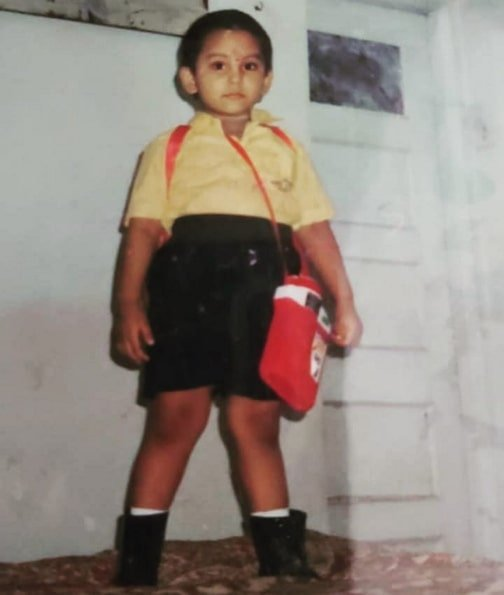 jaan kumar sanu childhood photo