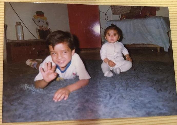 kshitij prasad childhood photo