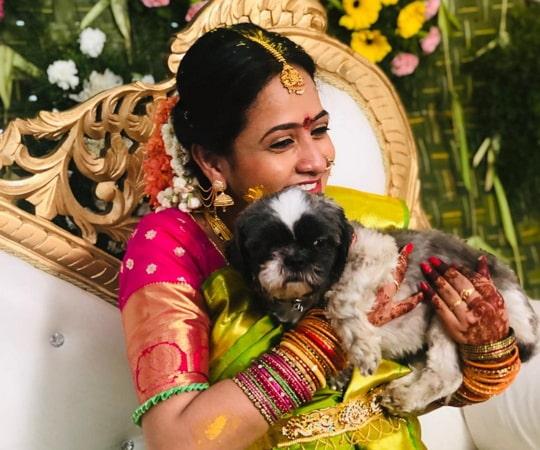 lasya manjunath dog