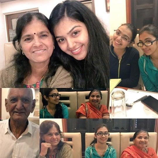 monal gajjar family