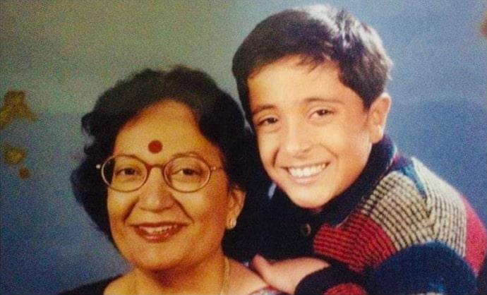 pradeep bhandari childhood photo