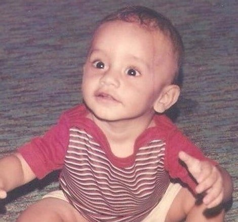 rahul vaidya childhood photo