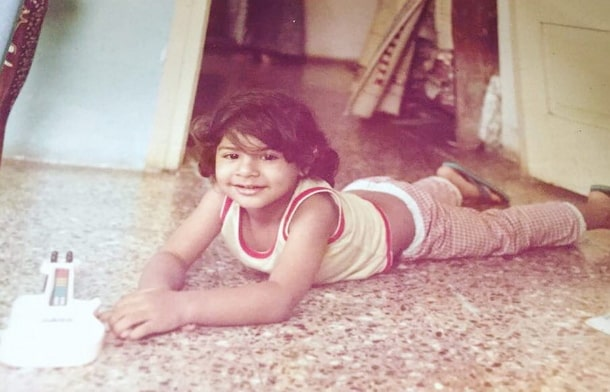 ribbhu mehra childhood photo