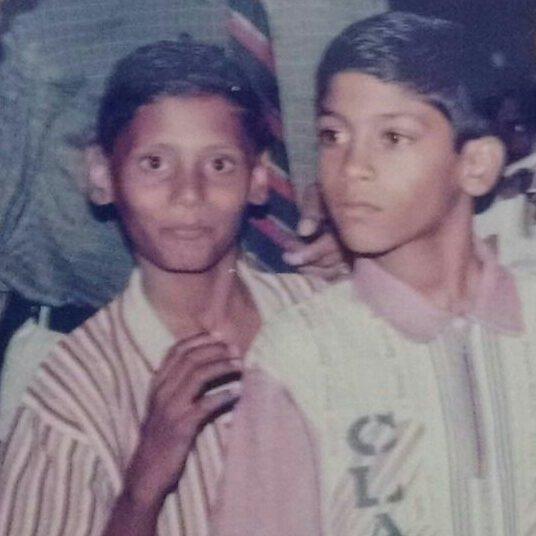 rio raj childhood photo