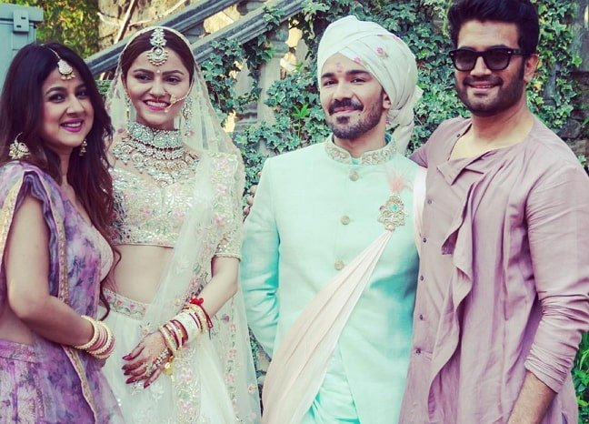 rubina dilaik marriage photo