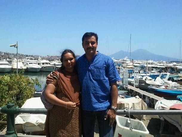 sabarinath wife