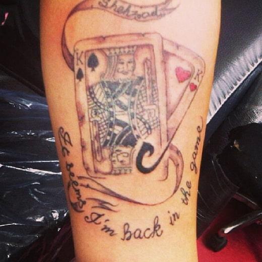 shehzad deol tattoo