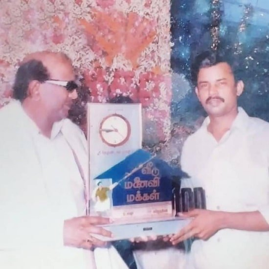 anitha sampath father