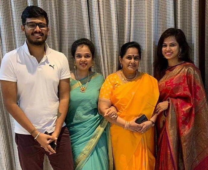 ramya pandian family