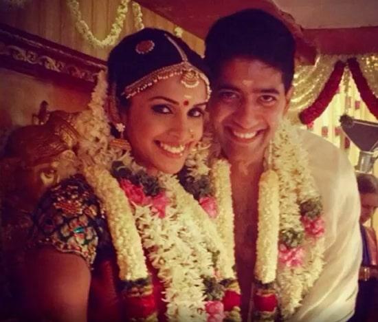 samyuktha karthik marriage photo