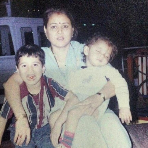 anshuman malhotra childhood photo