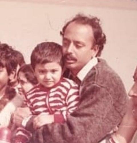 arina dey childhood photo