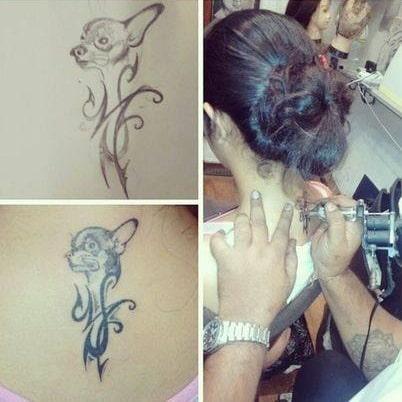 avika gor tattoo