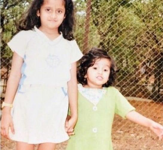 chaitra vasudevan childhood photo