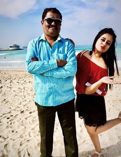 chaitra vasudevan father