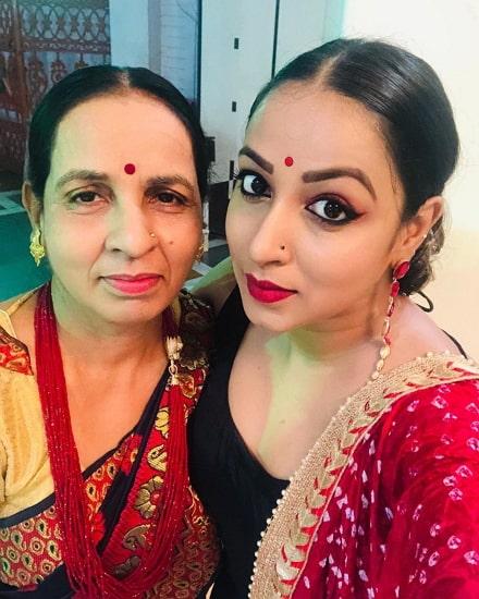 madhushree sharma mother
