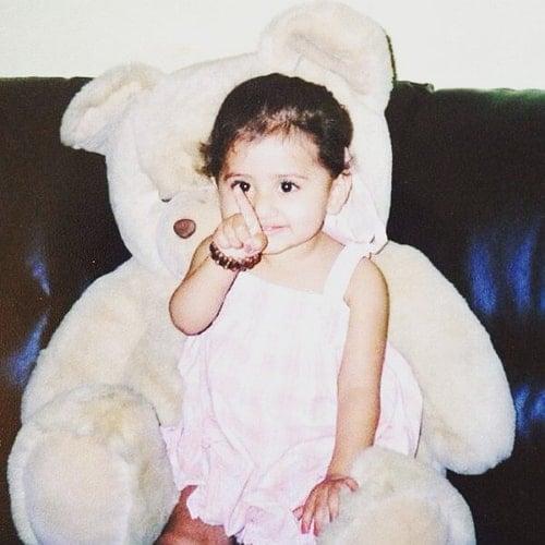 mazel vyas childhood photo