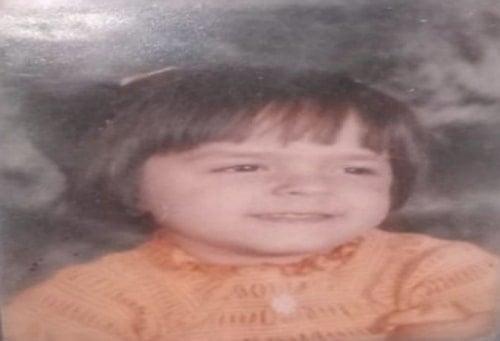 palak sindhwani childhood photo