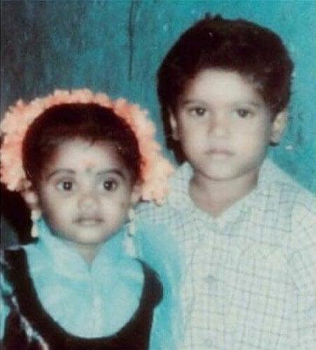 pugazh childhood photo