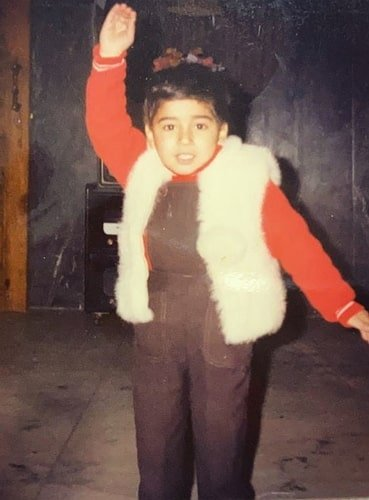 pulkit samrat childhood photo